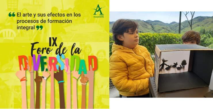 Énfasis en artes del Colegio Alcaravanes
