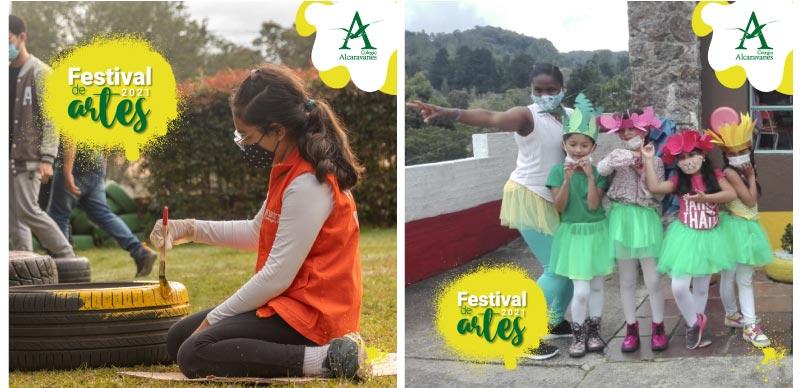 Festival de artes Colegio Alcaravanes
